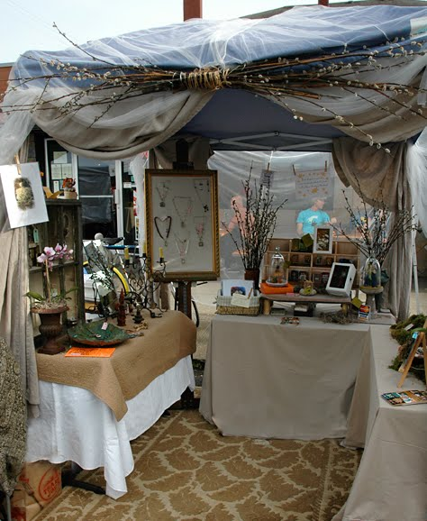 Craft festival booth ideas on pinterest craft booths for Display tents for craft fairs