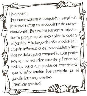 Notitas para el cuaderno for Actividades para el jardin de infantes