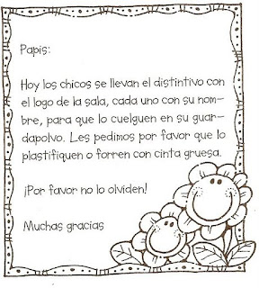 Notitas para el cuaderno for Cancion de bienvenida al jardin