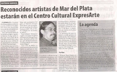 Reconocidos artistas de Mar del Plata estarn en el Centro Cultural expresARTE
