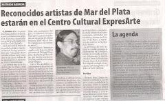 Reconocidos artistas de Mar del Plata estarán en el Centro Cultural expresARTE