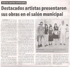 Descatados artistas presentaron sus obras en el saln municipal