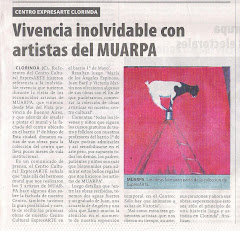 Vivencia inolvidable con artistas de MUARPA