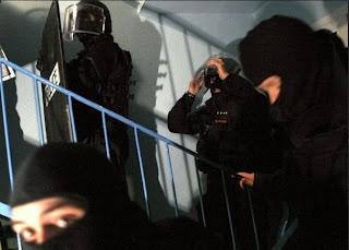 Villiers-le-Bel, descente de police le 18 février 2008. AFP