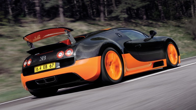 Bugatti Veyron world s fastest production car Super Sport