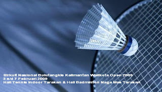 Sirkuit Nasional Bulutangkis Walikota Tarakan Open 2009 - Ardiz Tarakan