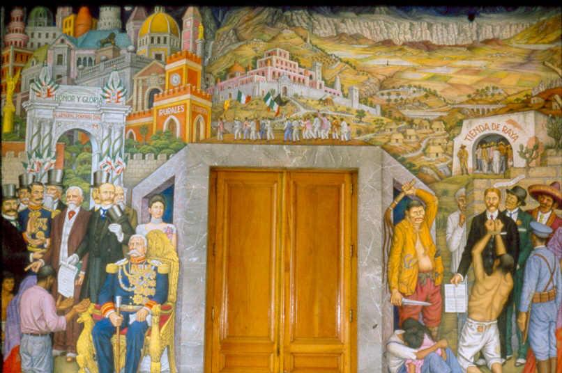 Notas breves sobre el muralismo mexicano taringa for Mural de juan o gorman
