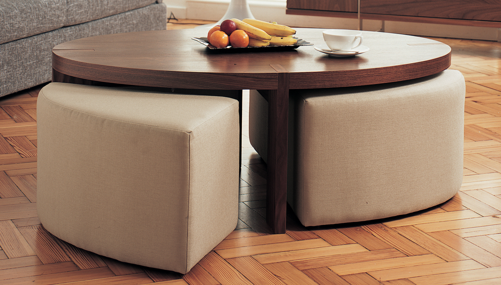 Image Result For Coffee Table With Chairs Underneath