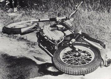 Duane Allman Car Crash Photos