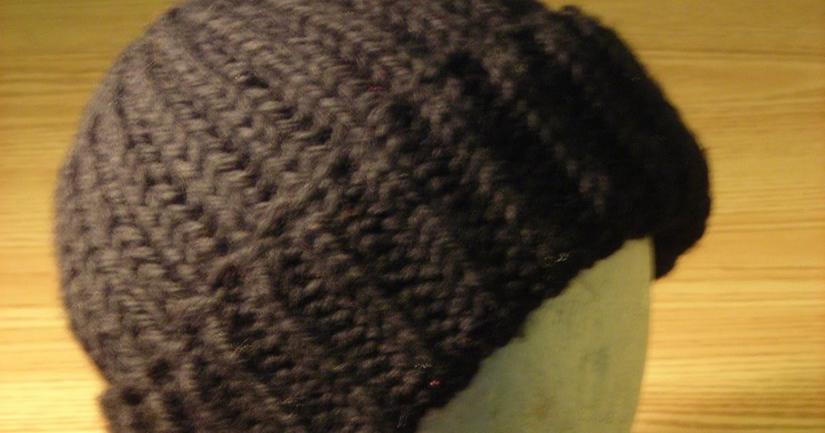 Knitted Watch Cap Pattern : Knitting with Fire: Free Watch Cap Hat Pattern
