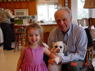 Grandpa Neely with Hannah Joy