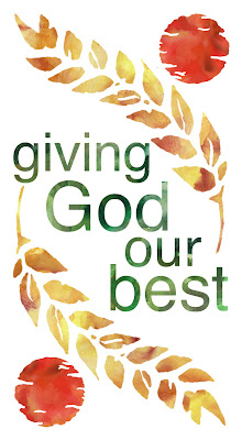 Simple Devotion: Our Offering to God..