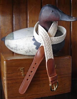 Skipjack's Nautical Living: Nautical Belts for Men & Women at Skipjack