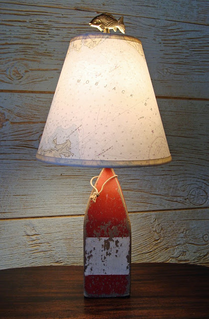 Skipjacku0027s Nautical Lamp Shades Is The Perfect Accessory For The Nautical  Themed Interior.