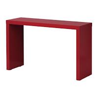 Decorica colorful furniture for Ikea malm console table