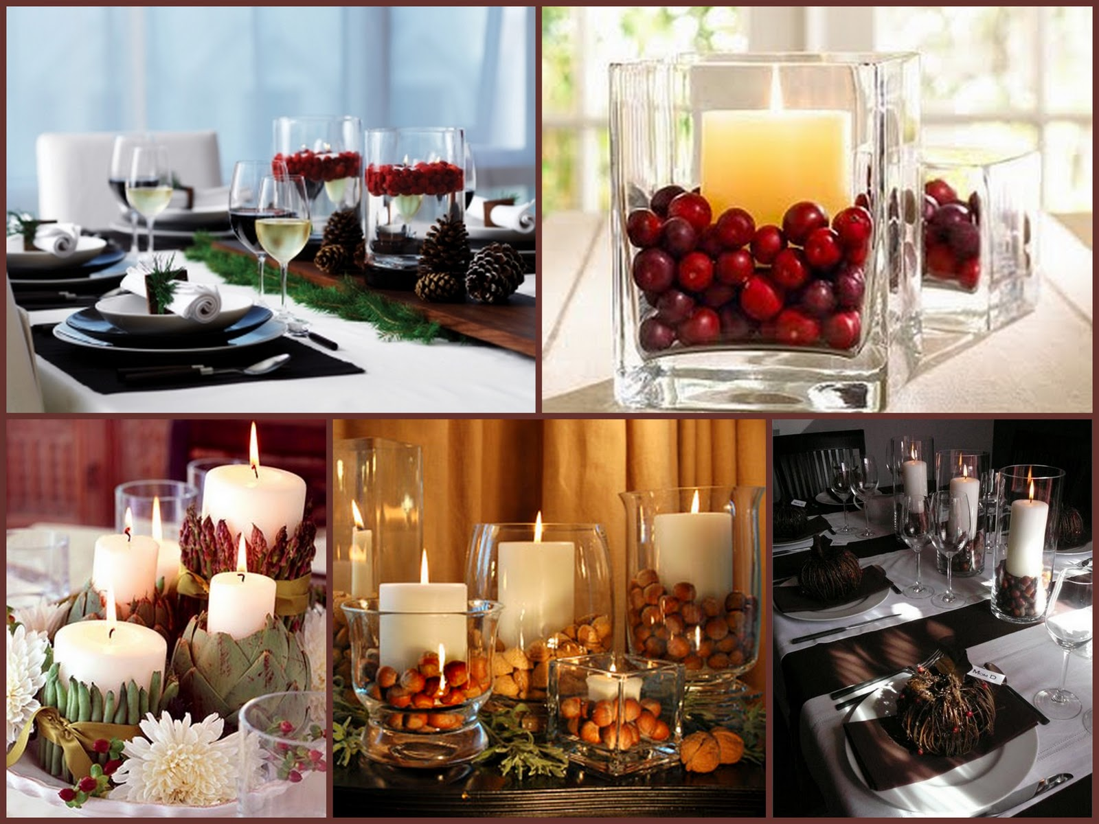 Trendee flowers designs diy candle centerpiece decor for Thanksgiving centerpieces with candles