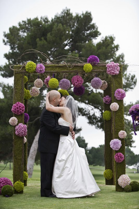 Planning on an outdoor wedding in 2011 Check out these amazing arches that