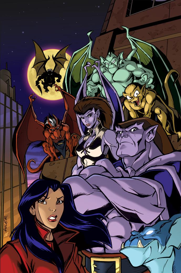 gargoyles cartoon demona