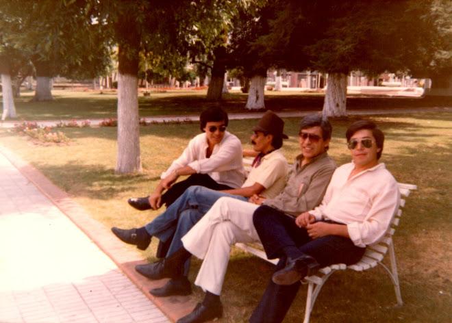 """De Gira con """"LOS CHILICOTES"""" 1985 Dughetti-Cabrera-DANIEL BRONDO-Holmedilla"""