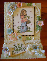 SUGAR NELLIE ,EASEL CARD