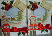 tilda & edwin christmas cards