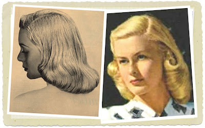 Vintage Hairstyling on Throughout The 1940 S  The  Pageboy  Is Definitely My Favorite Vintage