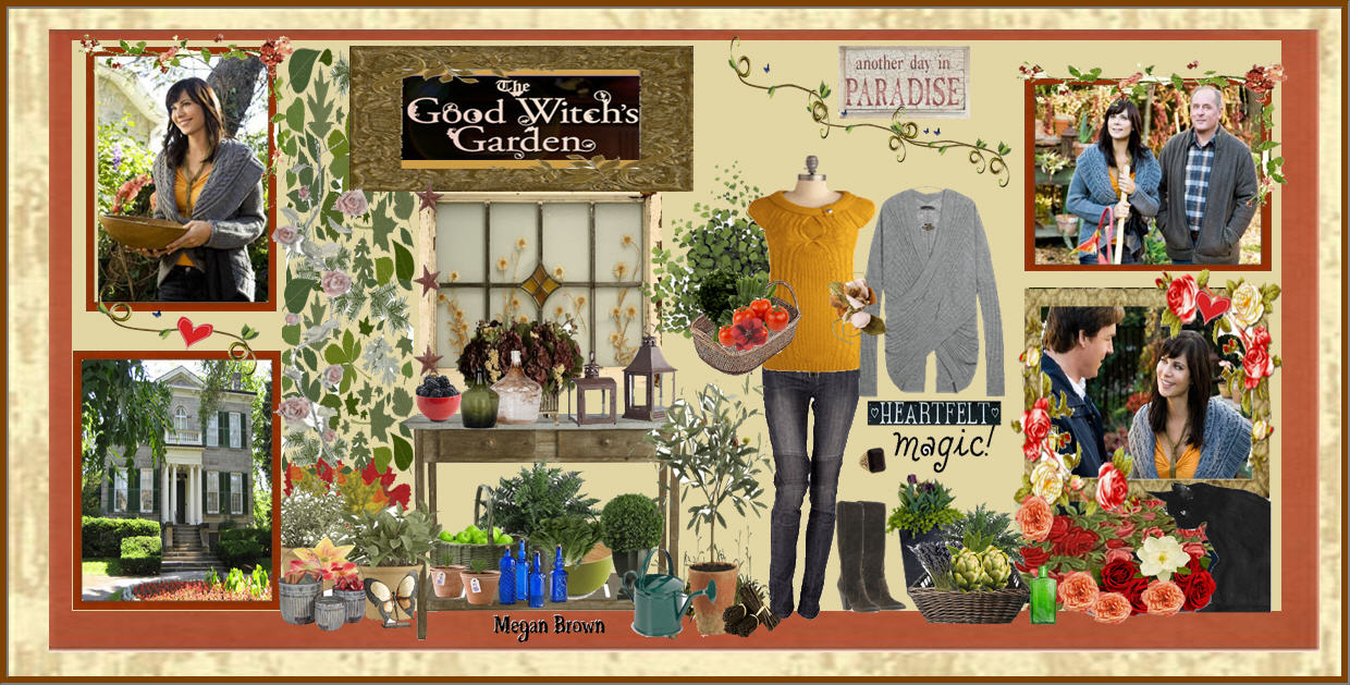 Fashion spark the good witch from the hallmark channel for The good witch garden