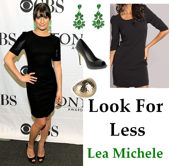 ... but I love it dressed up. Get Lea's sexy chic look for $50 and under ...