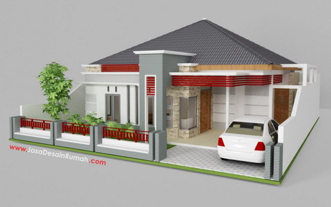 Bentuk Desain Rumah on Trend Home Interior Design 2011  Rumah Bentuk Keren