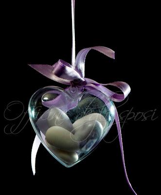 Officine degli sposi segnaposto cuore in plexiglass - Ringraziamento tacchino al colore ...