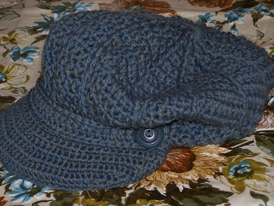 Crochet pattern, newsboy hat | Money Talks