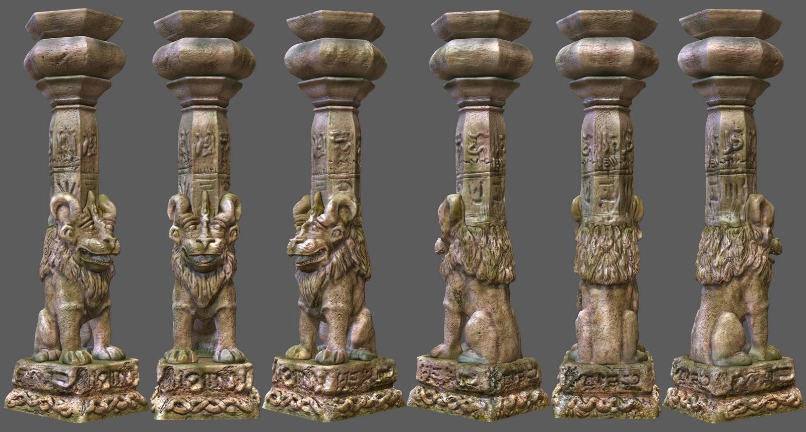 The Creative Journey Temple Pillar Pt3