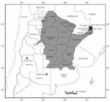 Zonas más afectadas del país