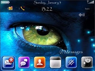 Avatar Theme Blackberry Tip at Gadget Help