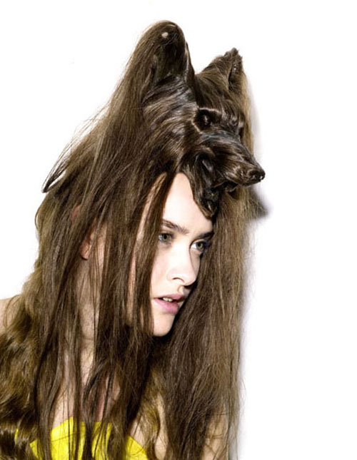 Nagi Noda Create Bizarre Animals Hair Hats Images Seen On www.coolpicturegallery.us