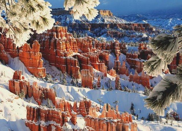 Stunning Winter Mountain Nature Wallpapers   Mountain Nature Wallpapers Seen On www.coolpicturegallery.us