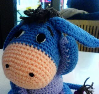 Knitted Tie Patterns : FREE KNITTING PATTERNS FOR EEYORE - VERY SIMPLE FREE KNITTING PATTERNS