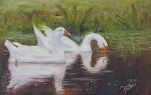 Grisham Geese on Lake Dora