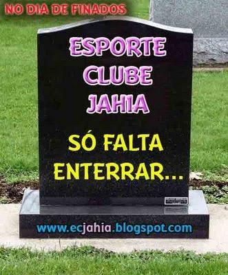 Jahia: morreu e esqueceram de enterrar!