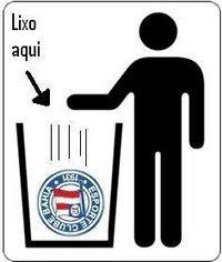 Jogue lixo no lixo