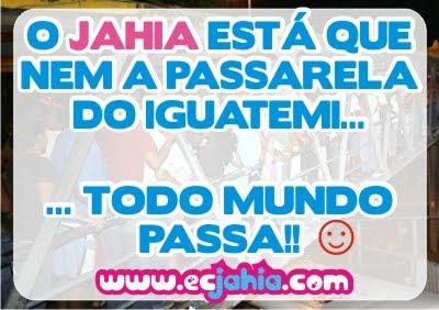 Jahia e a passarela do Iguatemi
