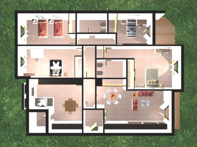 Delineante y t cnico de decoraci n de interiores dise o for Diseno interiores 3d