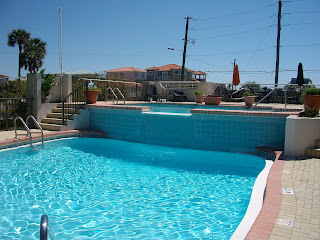 Pool at The Beachside Inn in Destin FL