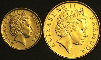 Bermumda coins obverse