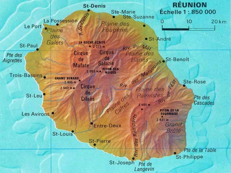 Julie(n) dans le Pacifique Sud: L'Ile de la Réunion ...