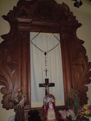 ALTAR MAYOR DE LA IGLESIA DE GUAITO
