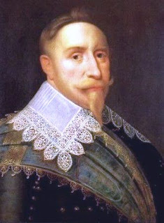 Gustavus Adolphus won the Thirty Years War and secured religious freedom for all Europe through the sheer magnificence of his name
