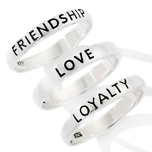 Love Friendship Loyalty Symbols