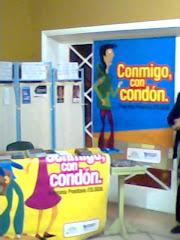 Stand sobre Prevención de enfermedades HIV SIDA