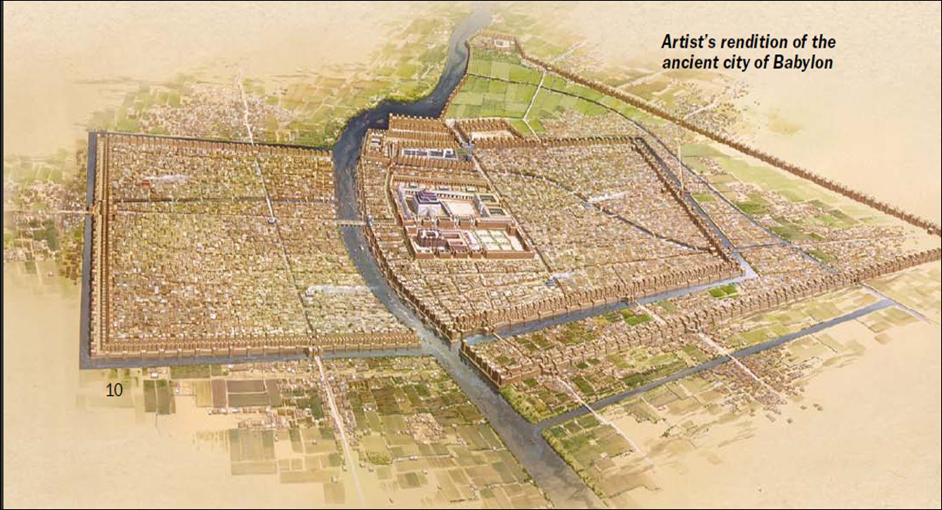 Part 3 - Babylon in Bible HistoryBabylon City Walls